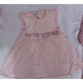 Vestido Fiesta Bebe Nena 2-3 Años 1 Sola Postura Marca Babu