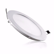 Painel Plafon 24w Led Luminária Redonda Embutir 30cm