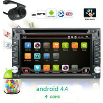 2 Din Puro Android 4.4 Carro Dvd Gps Navigation Radio Stereo