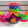 Neón Corona X12 15 Años Feliz Cumpleaños Hora Loca Fiestas