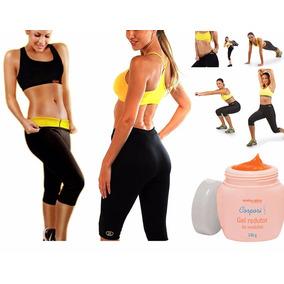 Calça Queima Gordura Modeladora Shapers + Gel Redutor Medida