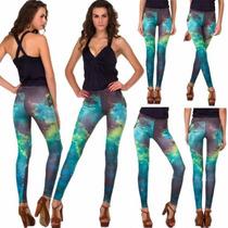 Pantalón Legging Stretch Galaxia