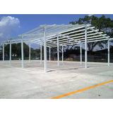 Portico (kit) Estructural Metalico Para Viviendas De 72mt2