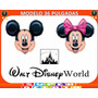Globos Grande Metalizados Mickey Mouse 70 Cm