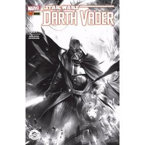 Star Wars: Darth Vader Nº 1 Hqmarvel Panini Capa Metalizada