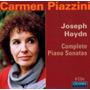 Haydn - Carmen Piazzini - Sonatas Para Piano - 9 Cds