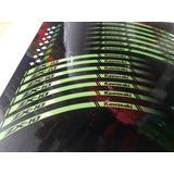 Kit Calcos Para Llantas Kawasaki Zx10 Zx6 Zx9 Reflectivas