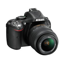 Nikon Reflex D5200 Wi-fi Gps Fullhd + Garantía 12 Meses