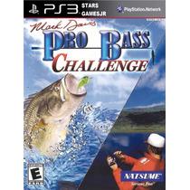 Pro Bass Pescaria Challenge Ps3 Psn Midia Digital Original