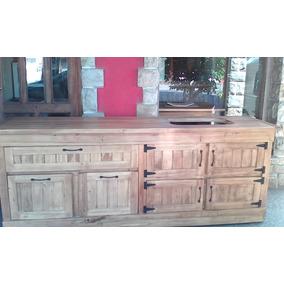 Muebles De Cocina A Medida Estilo Campo En Alamo