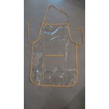 Delantal Plástico De Cocina, Pvc Flexible, Transparente