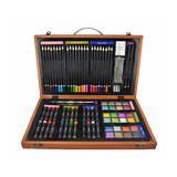 Set Para Dibujar Y Pintar, Colores Pinturas Y Acuarelas