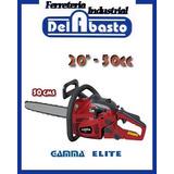 Motosierra Gamma Elite 20 50cc 50cm Cadena/carburador U.s.a