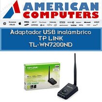 Placa Red Tp Link Usb Wifi 7200nd 1000mw