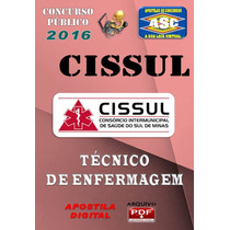Concurso Cissul Samu Mg Tecnico De Enfermagem 2016