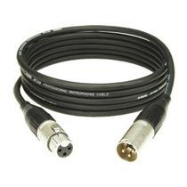 Cable Microfono Xlr Canon Y Canon A Plug 6 Mt Profesional