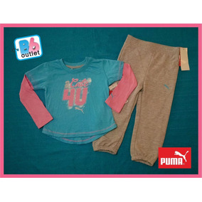 Padrisimo Pants Puma Original Para Niña 2 Años Envío Gratis