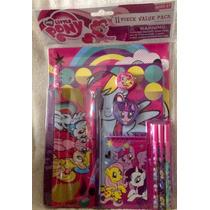 Set De Colegio De Little Pony Original
