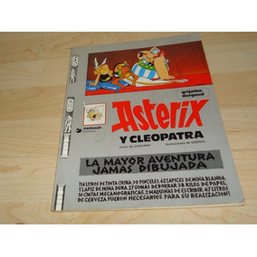 Libro Historieta Asterix Cleopatra Grijalbo