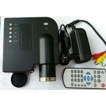 Mini Projetor Lcd Imagem Sistem 320×240. 48 Lumes