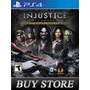 Injustice Ultimate Edition Ps4 - Primaria - Audio Portugues