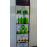 Exhibidor Natur Color Green Completo Para Tu Salon
