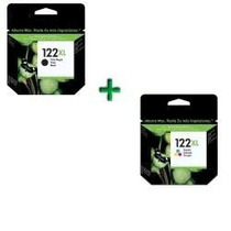 Kit 122xl Preto(23ml) + 122xl Color(18ml) Cheios Frete Grati