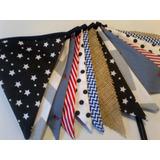 Banderines De Tela Diseños Exclusivos Precio X Triangulo.