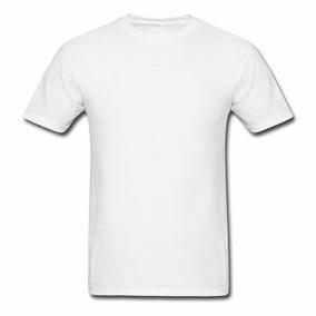 Camiseta Branca Lisa 100% Poliéster Para Sublimação Promoção
