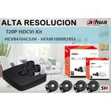 Kit Dahua Hcvr4104cns3kit 720p 4 Camaras Sin Soporte Tecnico