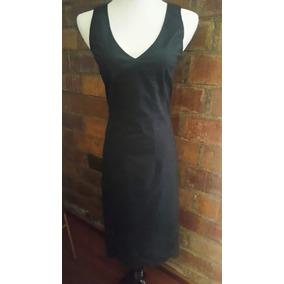 Vestido Casual Color Negro Banana Republuc Talla:0