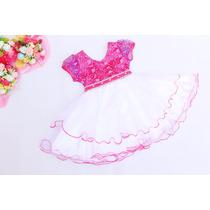 Vestido Festa Gatinha Marie Minnie Barbie Princesa - Minie