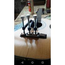 Kit Com 3 Grampos Para Colar Cavalete Violão,etc - Luthier