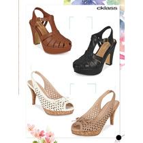 Hermosos Zapatos Dama Con Plataforma Casual De Moda Cklass