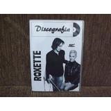 Dvd Áudio Discografia Roxette - Completa 1984/2016