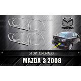 Cobertor Cromado De Stop Mazda 3 Aplica 2004