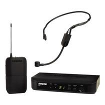 Microfone Sem Fio Shure Headset Blx14 Br / P3 Auricular Loja