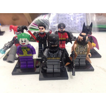 Set Batman Bane Guason Batichica Dc Comics Compatible Lego