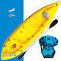 Kayak K1 Atlantikayak De Pesca Para 1 Persona Pala + Asiento