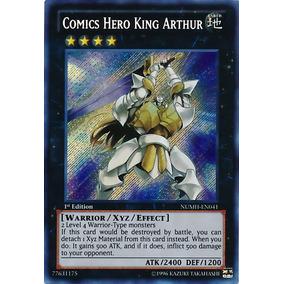 Comics Hero King Arthur Numh-pt041 Secret Rare