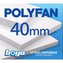 Placa Polyfan / Polifan De 40mm Para Letras Corporeas Caba