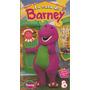 Barney La Casa De Barney Vhs Original En Castellano