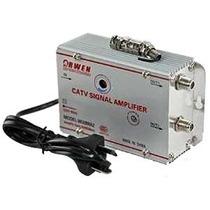 Amplificador Repartidor Señal Cable Tv Antena 2 Salidas 20 D