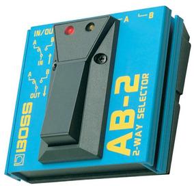 Pedal Boss Ab Box Para Guitarra Ab 2 A B Box - Loja Kadu Som