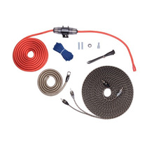 Kit Instalação Amplificador Rockford Fosgate 8 Awg