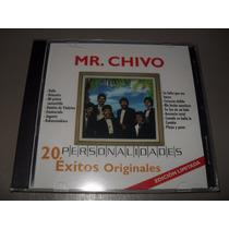 Mister Chivo Personalidades 20 Exitos Cd Nuevo Sellado