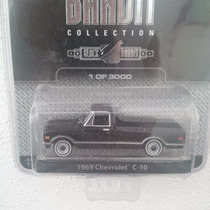 Greenlight Blackbandit 1969 Chevrolet C-10 Serie 6