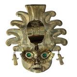 Mascara Cultura Precolombina Importada De Colombia