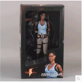 Action Figure Resident Evil - Sheva Alomar - Capcom - Raro!!