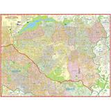 Mapa Gigante Da Zona Leste De São Paulo - Frete Grátis